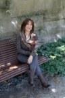 Maya sitting