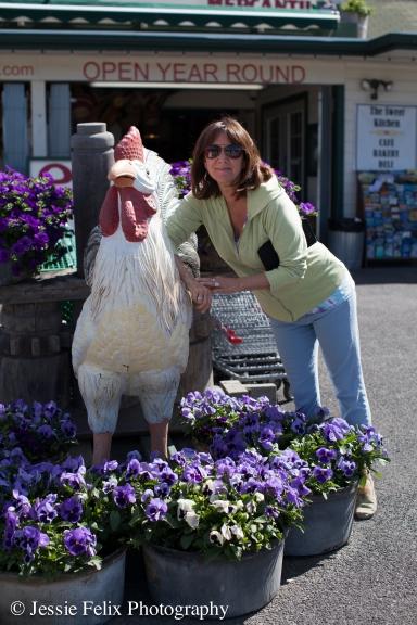 Maya and Chicken