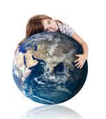 Hugging the world