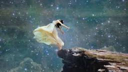 jump off cliff
