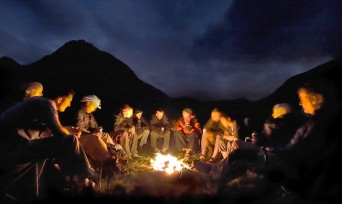 by the fire storytelling