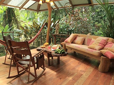 porch in costa rica