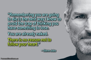 steve jobs on the heart